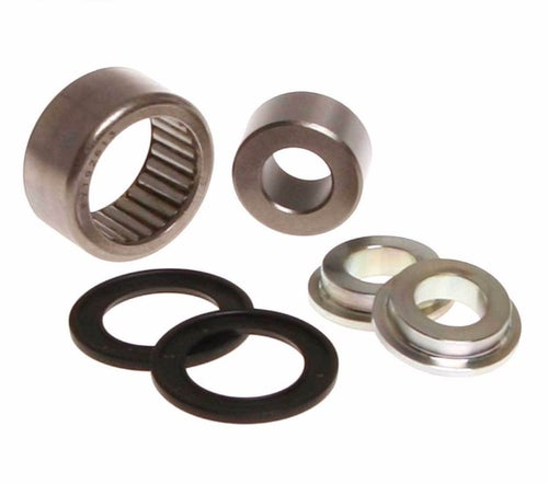 RFX Race Series Lower Shock Kit EC SM 450FSR 07 Lower Shock Bearing Kit - Black