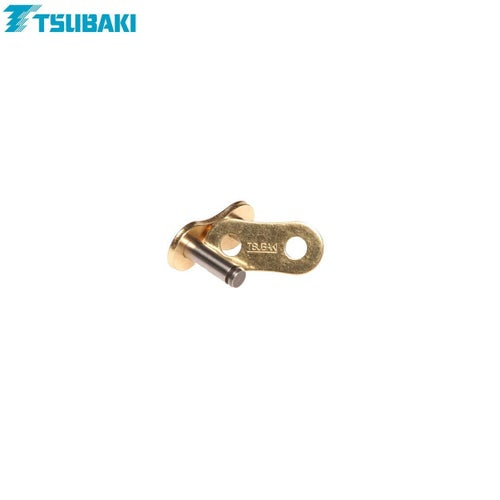 Tsubaki Replacement MXPro Racing Chain 420 Rivet Link for MX Chain - Gold Gold