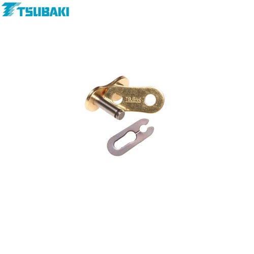 Tsubaki Replacement MXPro Racing Chain 420 Spring Link for MX Chain - Gold Gold
