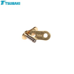 Tsubaki Replacement MXPro Racing Chain 428 Rivet Link for MX Chain - Gold Gold