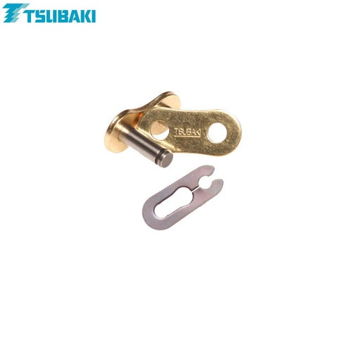 Tsubaki Replacement MXPro Racing Chain 428 Spring Link for MX Chain - Gold Gold