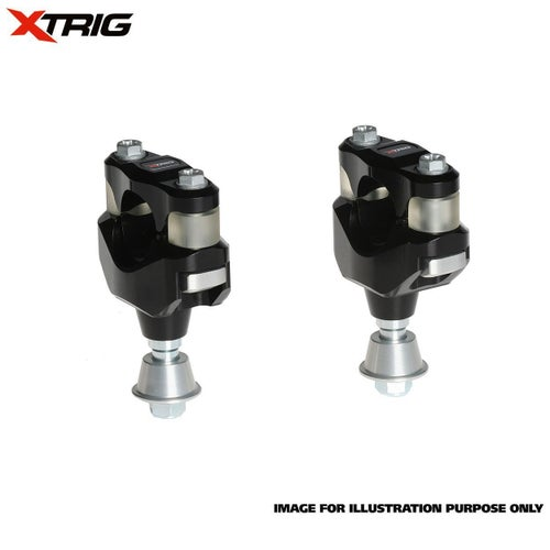 XTrig Bar Mount Kit OEM PHDS Rubber Honda CR CRF Size 284mm Bar Dia Bar Mount Kit - ar Mount Kit (OEM PHDS Rubber) Honda CR CRF