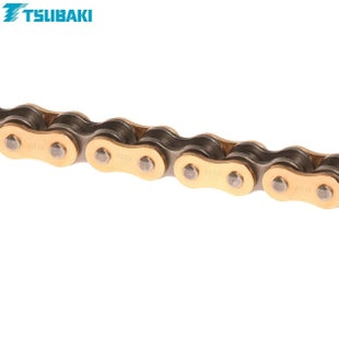 Tsubaki MX Alpha Racing XRing Chain XRG 520 x 118 MX Chain - Gold Black