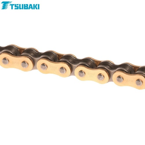 Tsubaki MX Alpha 2 Racing XRing Chain XRG 520 x 118 MX Chain - Gold Black