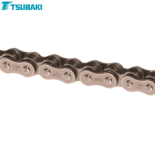 Tsubaki MX Alpha 2 Racing XRing Chain XRS 520x118 MX Chain - Black Black