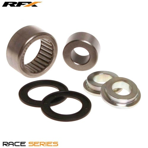 RFX Race Series Lower Shock Kit Suzuki RMZ250 450 10 Lower Shock Bearing Kit - Black