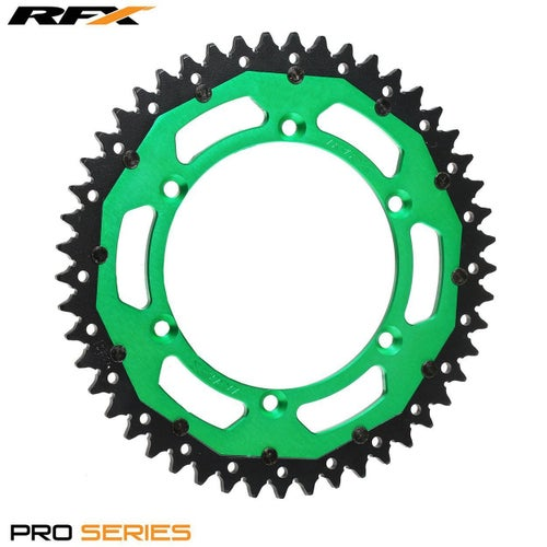 RFX Pro Series Armalite Rear Sprocket Kawasaki KX125250 KXF250450 Rear Sprocket - Green