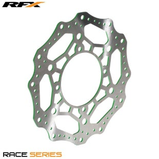 RFX Race Front Disc Kawasaki KX125 250 0305 Brake Disc - Green