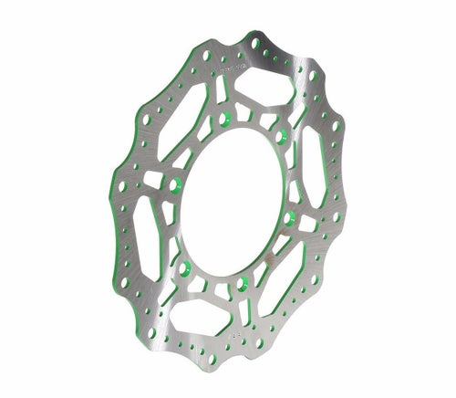 RFX Race Front Disc Kawasaki KX85 0016 Brake Disc - Green