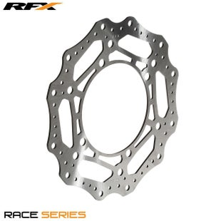 RFX Race Front Disc Honda CR125250500 8991 Brake Disc - Black