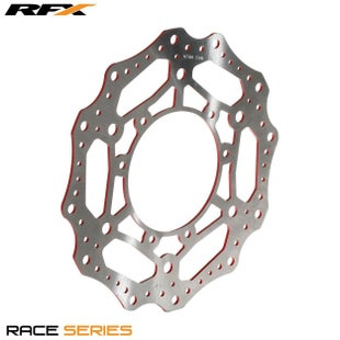 RFX Race Front Disc Honda CR CRF125500 9514 Brake Disc - Red