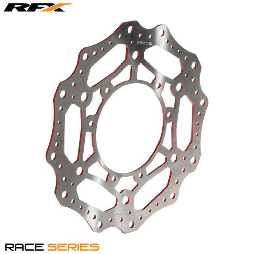 RFX Race Front Disc Honda CR CRF125500 9514 , Brake Disc - Red
