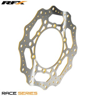 RFX Race Front Disc Suzuki RM125 250 8808 Brake Disc - Yellow