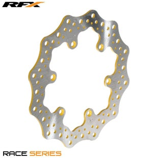 RFX Race Rear Disc Suzuki DRZ400SM 0509 Brake Disc - Yellow