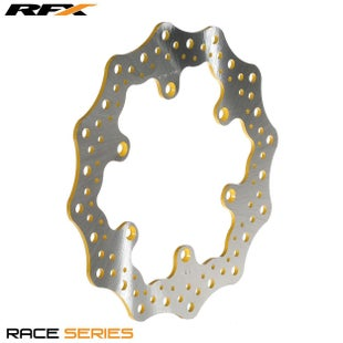 RFX Race Rear Disc Suzuki RM125 250 0608 Brake Disc - Yellow