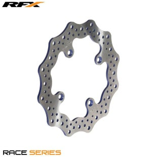 RFX Race Rear Disc Yamaha YZ80 85 9316 Brake Disc - Blue