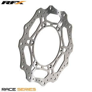 RFX Race Front Disc Yamaha YZF400 426 9899 Brake Disc - Black