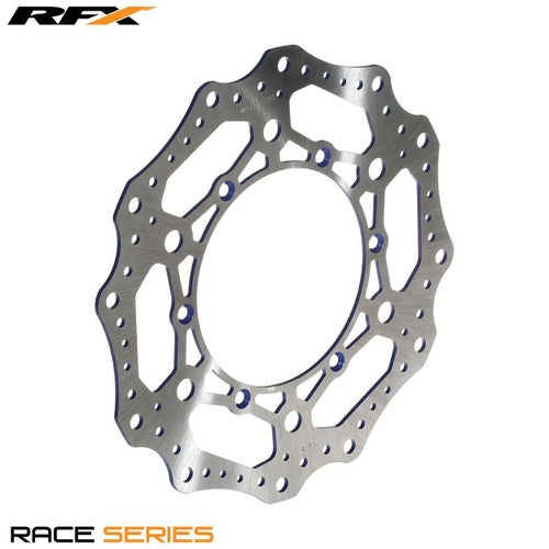 RFX Race Front Disc Yamaha YZF450 0315 Brake Disc - Blue
