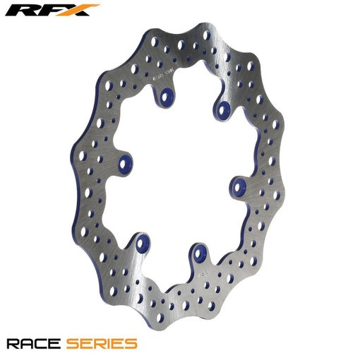 RFX Race Rear Disc Yamaha YZF450 0317 Brake Disc - Blue