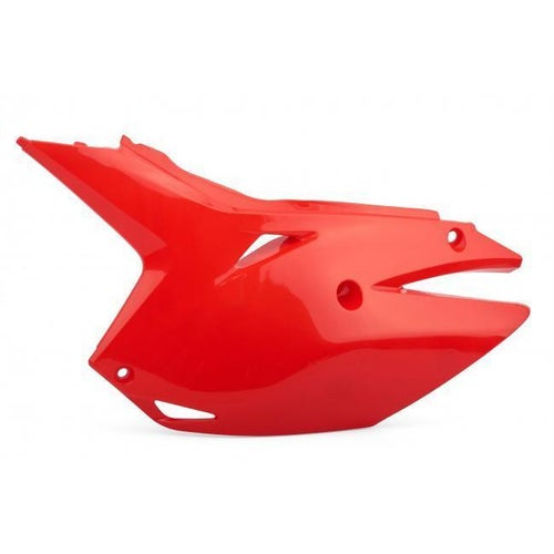 Polisport Plastics Airbox Cover and Side Panels Honda CRF450R 1316 Side Panel Plastic - Red