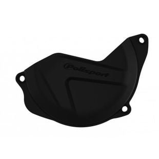 Polisport Plastics Clutch Cover Protector Honda CRF450 1016 Clutch Cover - Black