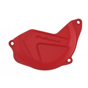 Polisport Plastics Clutch Cover Protector Honda CRF450 1016 Clutch Cover - Red