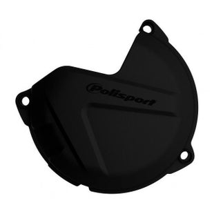 Polisport Plastics Clutch Cover Protector XC SX 125 200 0915 Clutch Cover - Black