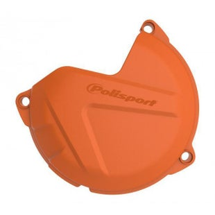 Polisport Plastics Clutch Cover Protector XC SX 125 200 0915 Clutch Cover - Orange