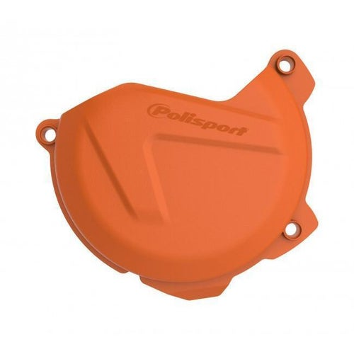Polisport Plastics Clutch Cover Protector EXCF XCFW 250 350 1216 Clutch Cover - Orange
