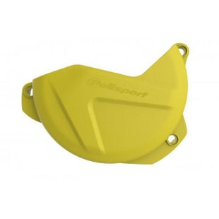Polisport Plastics Clutch Cover Protector Suzuki RMZ250 0716 Clutch Cover - Yellow