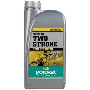 Motorex 2T 1 Litre 2 Stroke Oil Mix - Clear