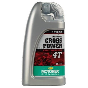 Motorex Crosspower Synth 4T 10/50 1 Litre MA2 Engine Oil - Clear