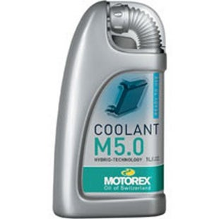 Motorex Green Pre Mix Hybrid M5.0 1 Litre Coolant - Green