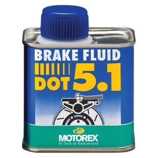 Motorex Dot 5.1 250gr , Brake Fluid - Clear