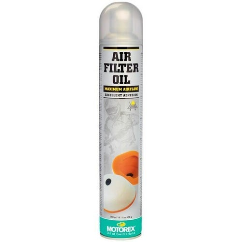 Motorex 655 Spray 750ml Air Filter Oil - Clear