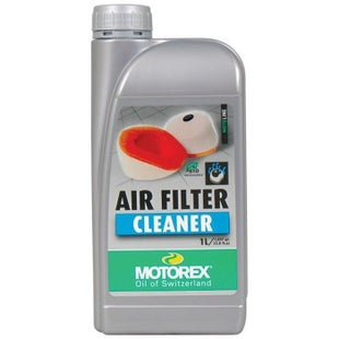 Motorex 1 Litre Air Filter Cleaner - Clear
