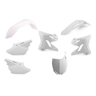 Polisport Plastics Box Kit Yamaha YZ125 250 15 Plastic Kit - 18 White