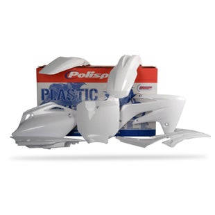 Polisport Plastics Full Plastics Kit Set Honda CRF150R 07 Plastic Kit - 18 White