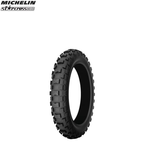 Michelin Rear Tyre MH3 MX Med Hard Terr Size 275 , Motocross Tyre - Black