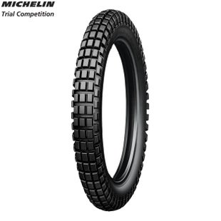 Michelin Front Tyre Trial Comp Tube Type Size 275 Motocross Tyre - Black
