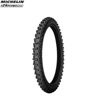 Michelin Front Tyre MS3 MX Med Soft Terr Size 70 100 Motocross Tyre - Black