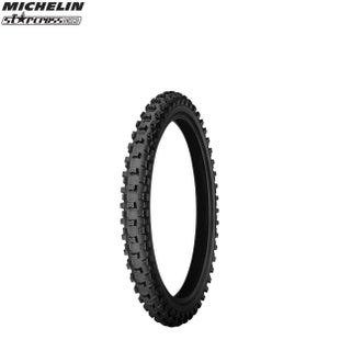 Michelin Front Tyre MS3 MX Med Soft Terr Size 60 100 Motocross Tyre - Black