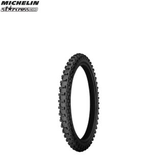 Michelin Front Tyre MS3 MX Med Soft Terr Size 250 Motocross Tyre - Black