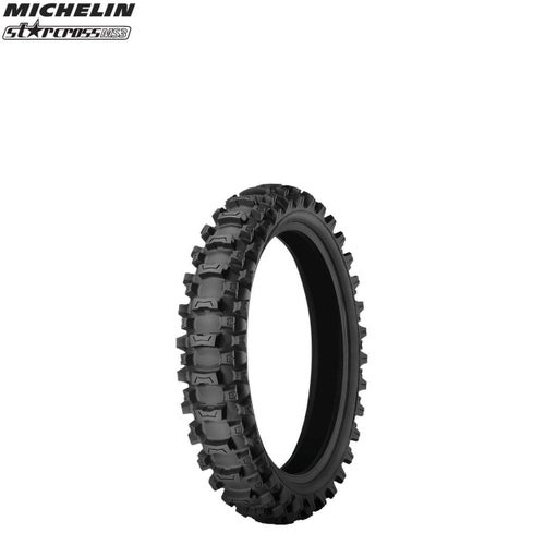 Michelin Front Tyre MS3 MX Med Soft Terr Size 250 , Motocross Tyre - Black