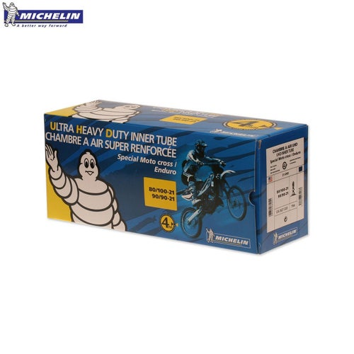 Michelin Ultra Heavy Duty Rear Inner Tube 100 110100 , Inner Tube - Black