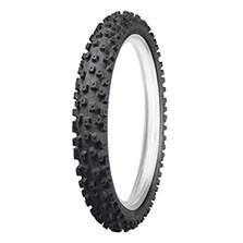 Dunlop Geomax MX52 Intermediate Junior Sizes Front Motocross Tyre - Black