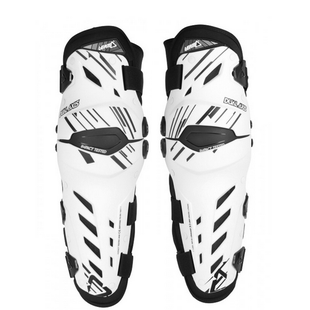 Leatt Dual Axis Knee Guards Knee Protection - White