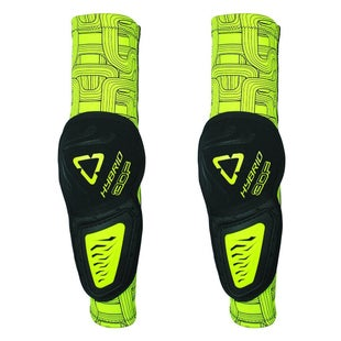 Leatt 3DF Hybrid Elbow Guards Elbow Protection - Black Lime