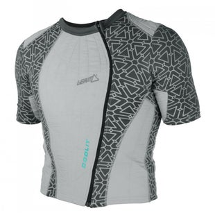 Leatt Coolit Evaporating Cooling Torsobescherming - Shirt Grey