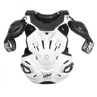 Leatt Fusion 30 Body Armour and Neck Brace Torso Protection - White